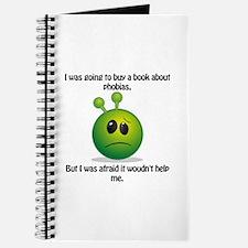 Punny Alien Phobia Journal