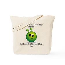 Punny Alien Phobia Tote Bag