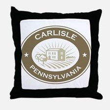 Carlisle Pennsylvania Throw Pillow