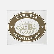 Carlisle Pennsylvania Throw Blanket