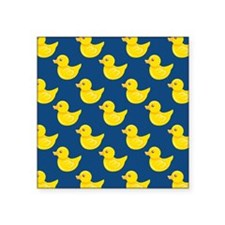 Blue and Yellow Rubber Duck, Ducky Sticker