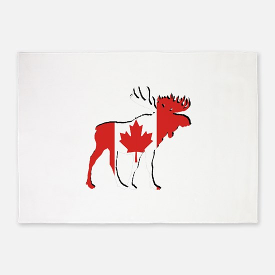 Canada Moose Rugs Area Indoor Outdoor