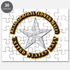 Navy - Rear Admiral (lower half) - O-7 - w Puzzle
