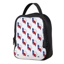 Texas Flag Pattern; Texan Neoprene Lunch Bag