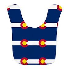 Colorado Flag Pattern Bib