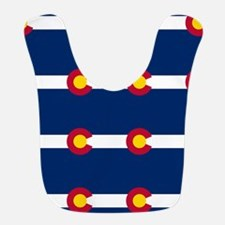 Colorado Flag Pattern Bib