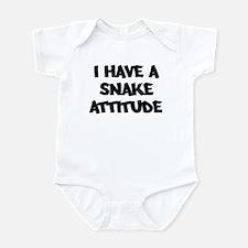 SNAKE attitude Infant Bodysuit
