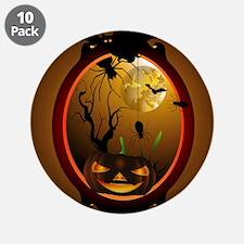 """Halloween 3.5"""" Button (10 pack)"""