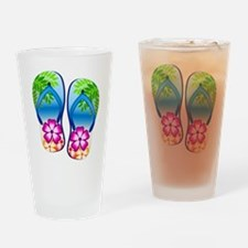 Flip Flops Drinking Glass