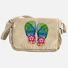 Flip Flops Messenger Bag