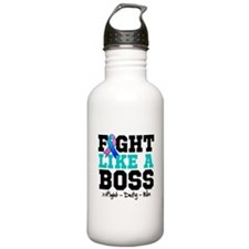 Thyroid Cancer Fight L Water Bottle