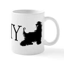 I Love my Afghan Hound Mug