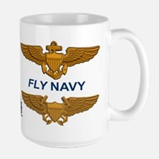 F-4 Phantom Ii Vf-161 Rock Rivers Large Mug Mugs
