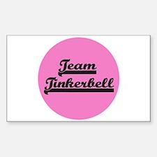 Team Tinkerbell - Paris Dog Rectangle Decal