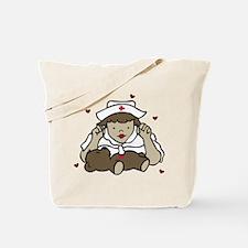 Teddy Bear Nurse Tote Bag