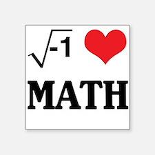 I heart math Sticker