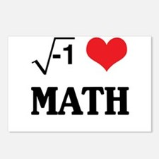 I heart math Postcards (Package of 8)
