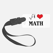I heart math Luggage Tag