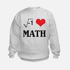 I heart math Sweatshirt