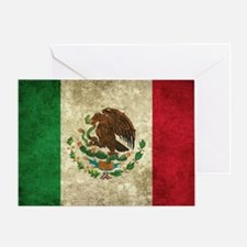 Bandera de México Greeting Card
