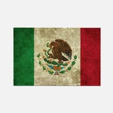 Bandera de México Rectangle Magnet