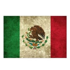 Bandera de México Postcards (Package of 8)