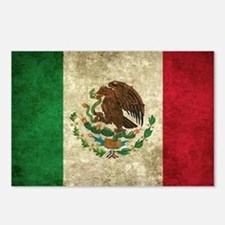 Bandera de México Postcards (Package of 8)