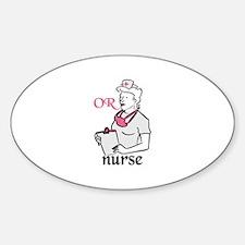 OR Nurse Decal