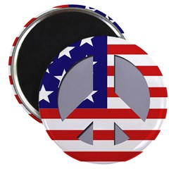 Patriotic Peace Magnet (10 pack)