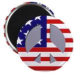 Patriotic Peace Magnet