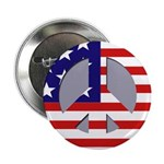 Patriotic Peace Buttons (100 pack)