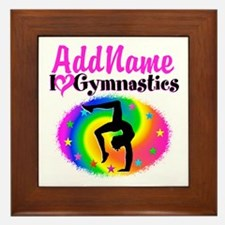 GYMNAST QUEEN Framed Tile