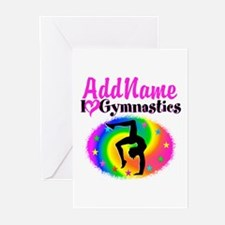 GYMNAST QUEEN Greeting Cards (Pk of 10)