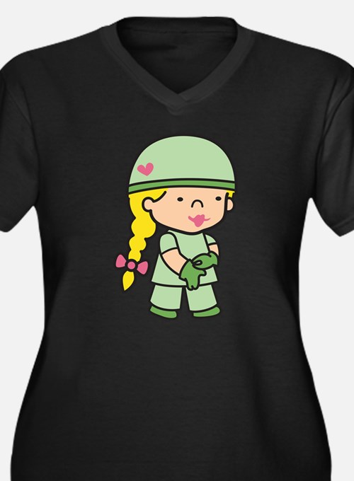 Future Army Doctor Plus Size T-Shirt