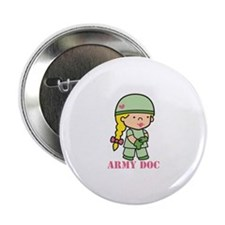"Army Doc 2.25"" Button (10 pack)"