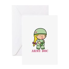Army Doc Greeting Cards