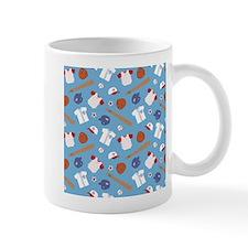 baseball-pattern-cafepress Mugs