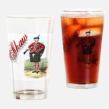 Clan Shaw Drinking Glass
