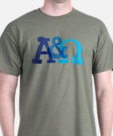 Alpha and Omega for Christians T-Shirt