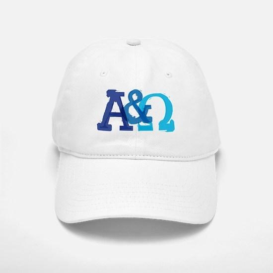 Alpha and Omega for Christians Baseball Baseball Baseball Cap