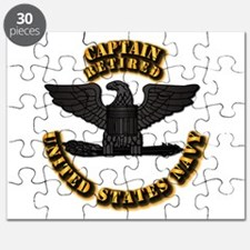 Navy - Captain - O-6 - Retired Text Puzzle