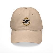 Navy - Baseball Captain - O-6 - Retired Text Baseball Cap