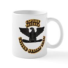 Navy - Captain - O-6 - Retired Text Mug