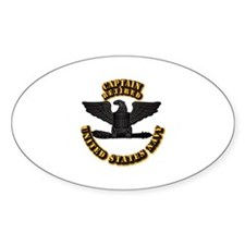 Navy - Captain - O-6 - Retired Text Decal