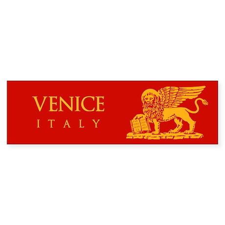 Venice Coat of Arms Sticker (Bumper)