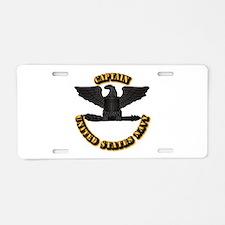 Navy - Captain - O-6 - w Te Aluminum License Plate