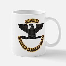 Navy - Captain - O-6 - w Text Mug