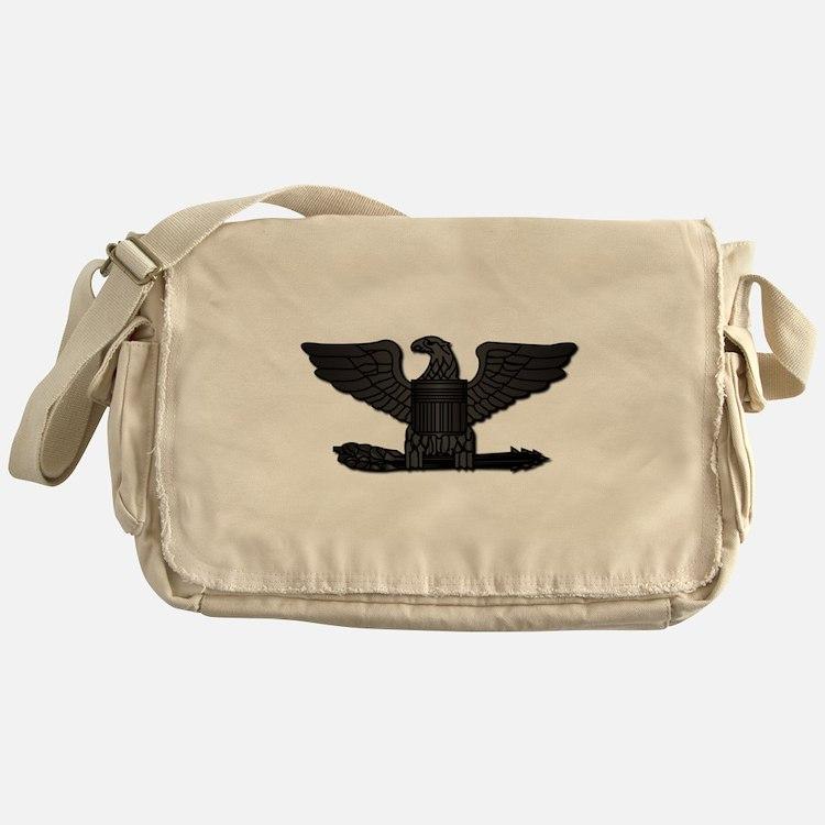 Navy - Captain - O-6 - No Text Messenger Bag