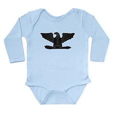 Navy - Captain - O-6 - Long Sleeve Infant Bodysuit