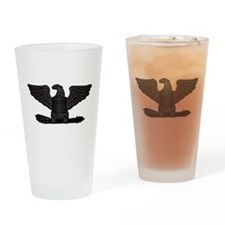 Navy - Captain - O-6 - No Text Drinking Glass
